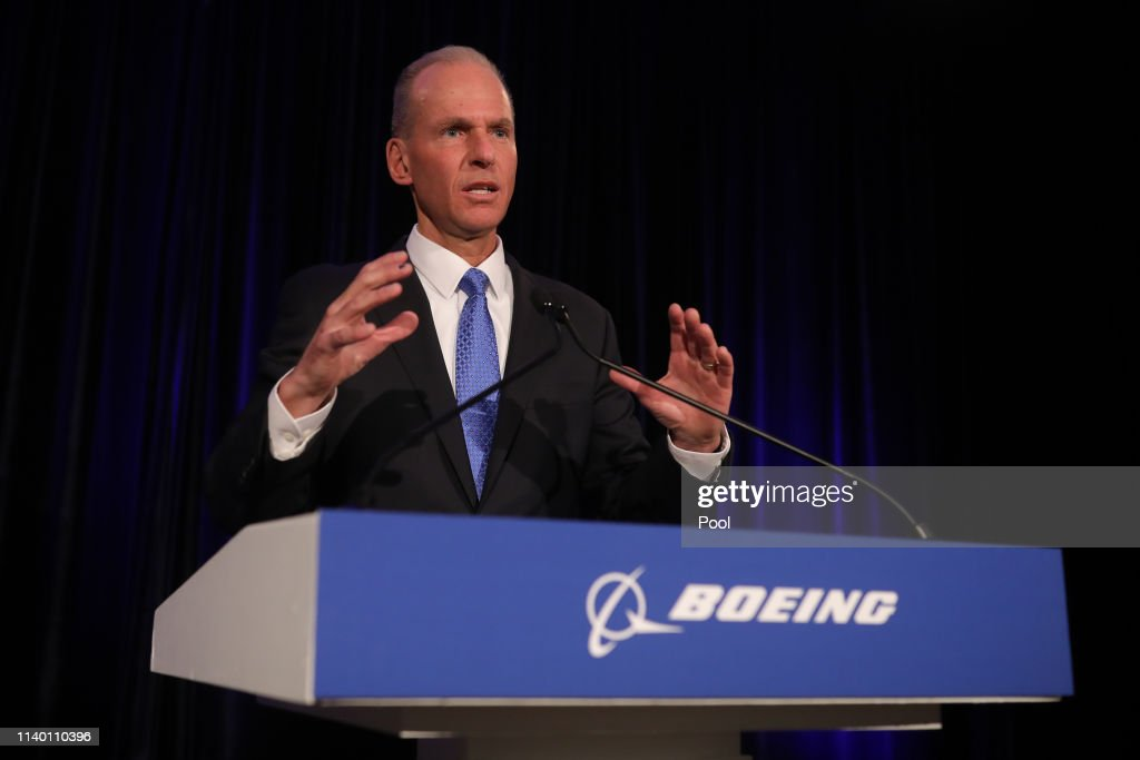 Boeing Holds Annual Shareholders Meeting In Chicago : News Photo