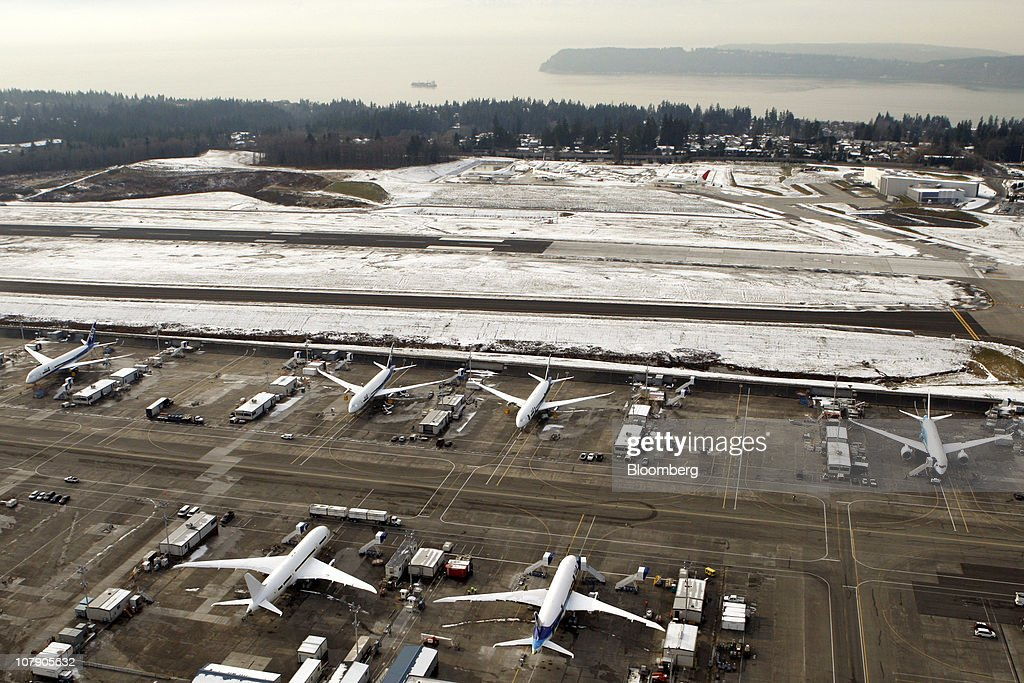 Boeing Co  jets stand for final assembly, testing and application of