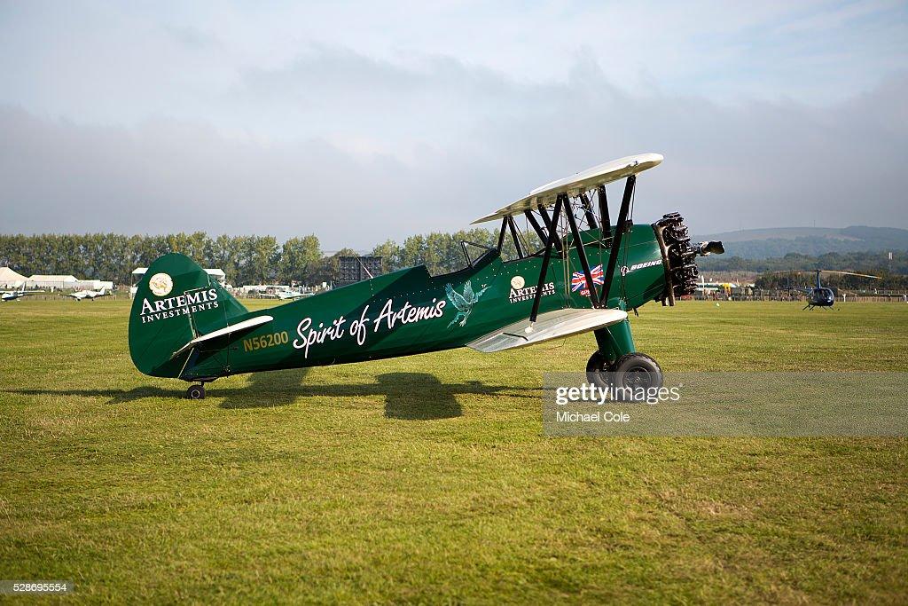 Boeing Stearman 75 'Spirit of Artemis' , Freddie March Spirit of