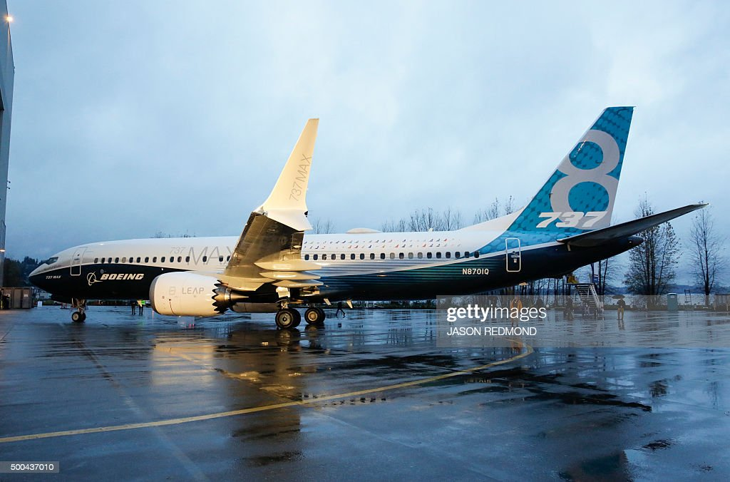 US-AVIATION-BOEING-737MAX : News Photo