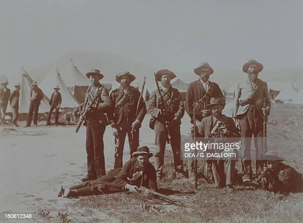 Boer Commando Second Boer War South Africa 19th20th century
