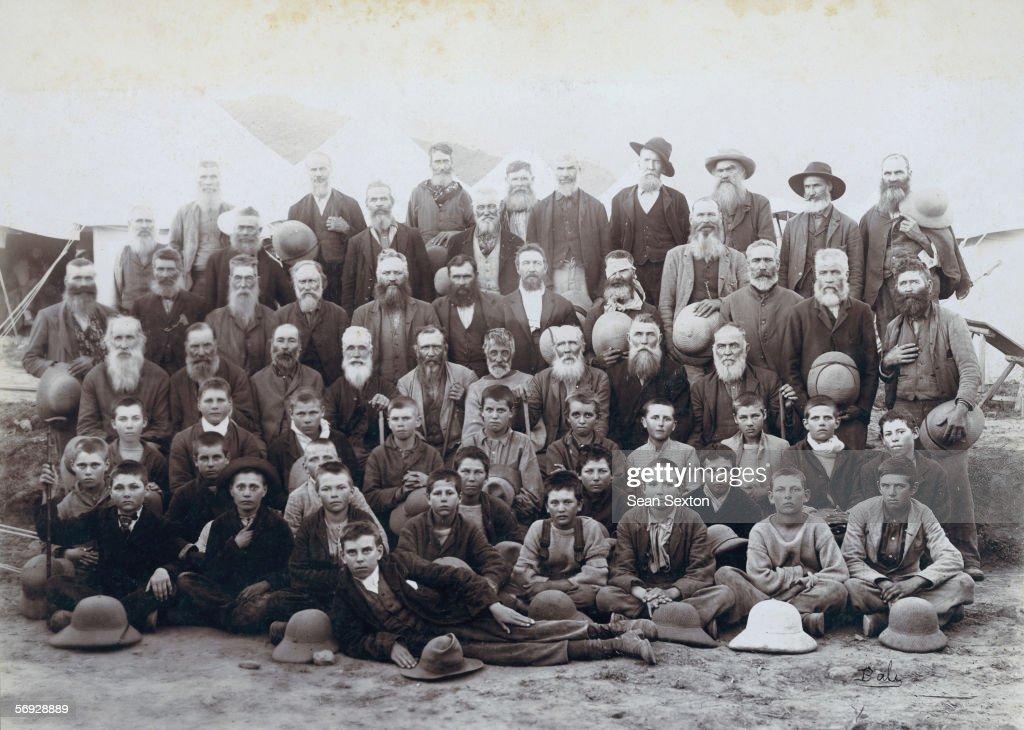 Boer Prisoners Overseas : News Photo