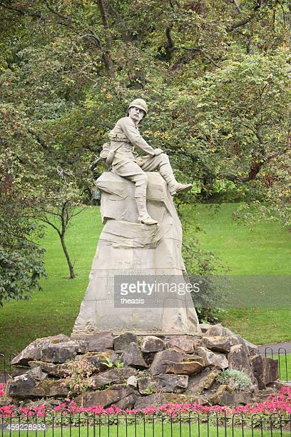 boer war memorial, glasgow - theasis stock pictures, royalty-free photos & images