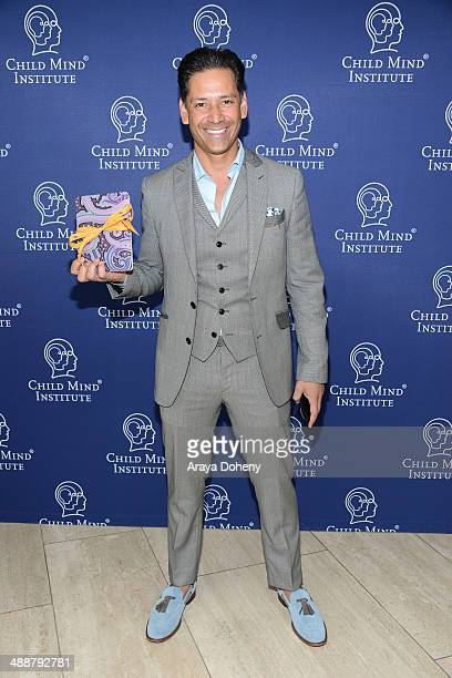 Bogar Martinez of Etro attends 'A Leading Role How Film and TV Can Change The Lives of Children' hosted by the Child Mind Institute and presented at...