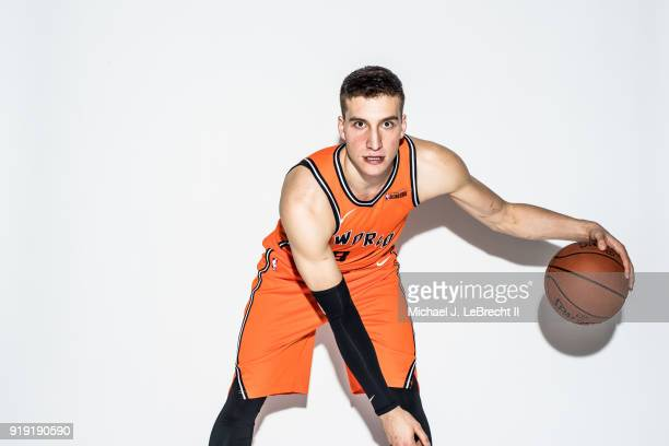 Bogdan Bogdanovic of the World team poses for a portrait prior to the Mountain Dew Kickstart Rising Stars Game during AllStar Friday Night as part of...