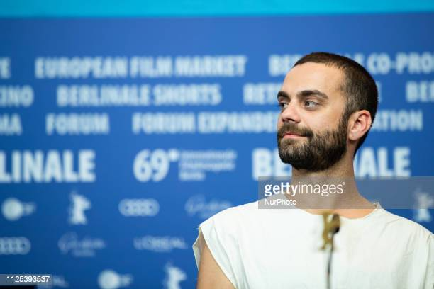 Bogdan Georgescu attends the press conference after the closing ceremony of the 69th Berlinale International Film Festival Berlin at Berlinale Palace...