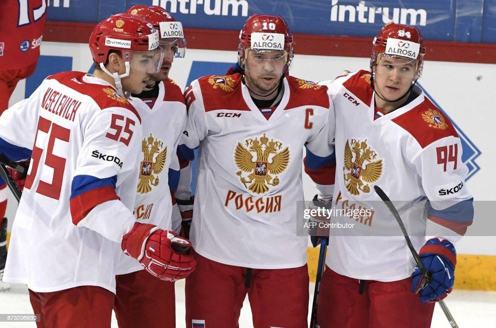 Ihockey Euro Cup Rus Cze News Photo