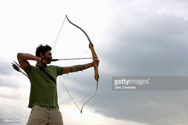 bogenschutze - archery stock pictures, royalty-free photos & images