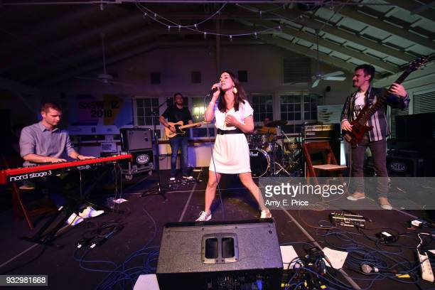 Boggie performs onstage at Sounds from Hungary during SXSW at Palm Door on March 16 2018 in Austin Texas