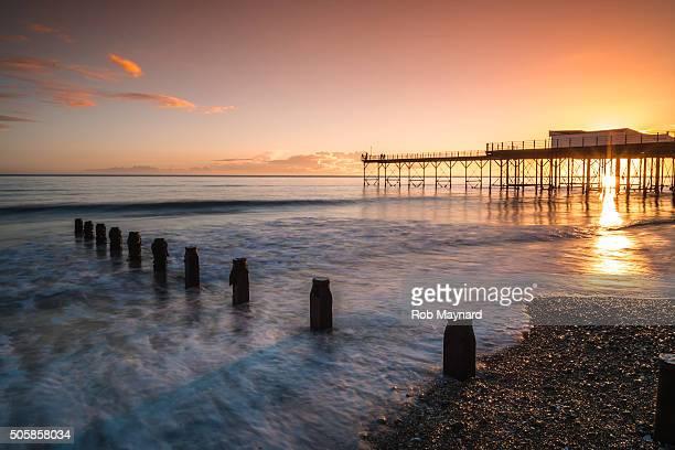 bognor pier - bognor regis stock pictures, royalty-free photos & images