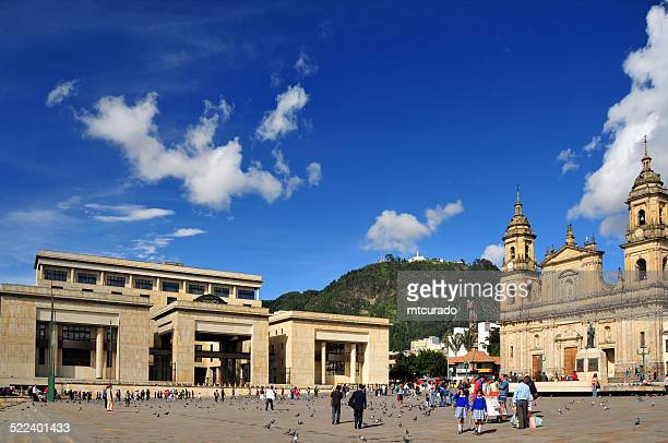 Bogotá, Colombia: Bolivar Square, the center of the old city