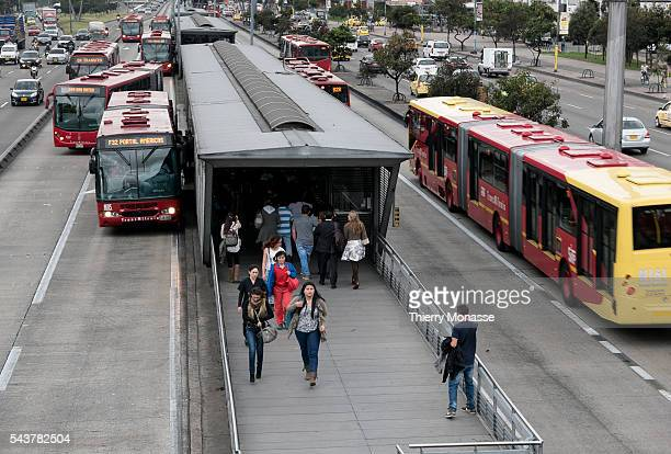 Bogotá Republic of Colombia August 4 2015 The TransMilenio TransMilenio is a bus rapid transit system that serves Bogotá The system opened to the...