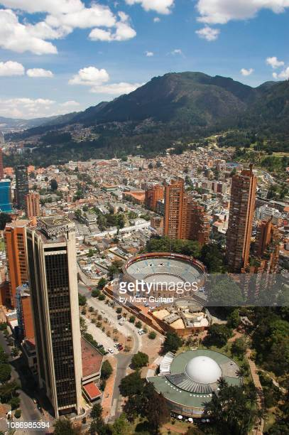 bogota cityscape, colombia - bogota stock pictures, royalty-free photos & images