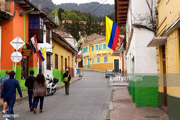Bogota, Colombia - La Candelaria; Spanish Colonial architecture
