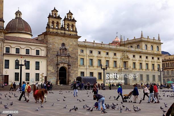 Bogota, Colombia - Plaza de Bolivar