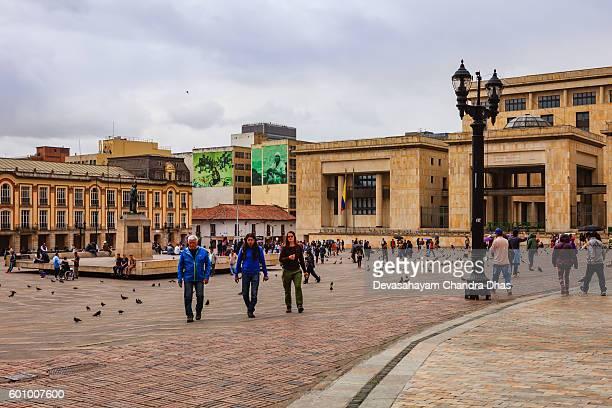 Bogota, Colombia: Supreme Court and Mayor's Office on Plaza Bolivar