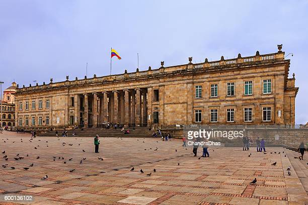 Bogota, Colombia: The seat of the Government; Spanish colonial architecture