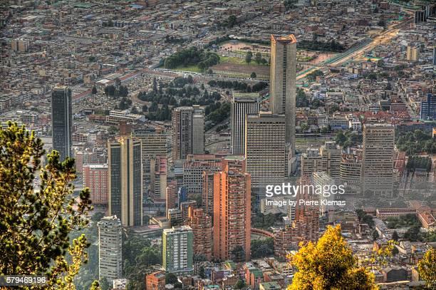 Bogota Downtown Aerial