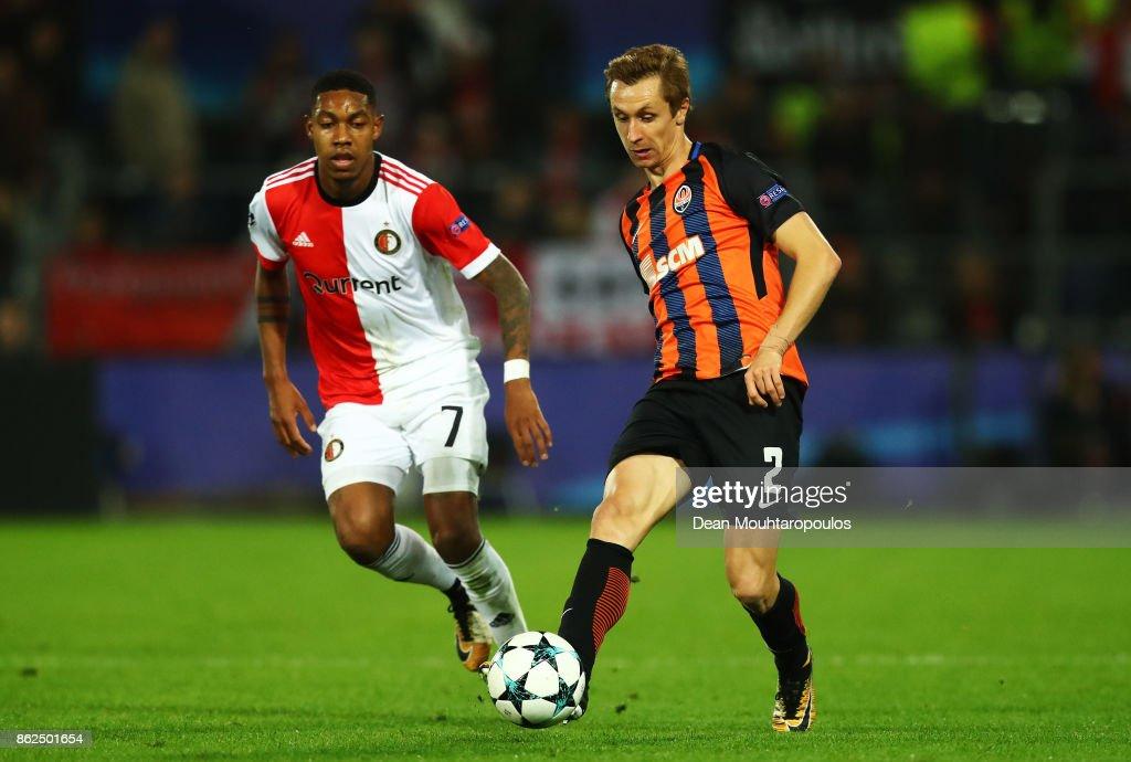 Feyenoord v Shakhtar Donetsk - UEFA Champions League