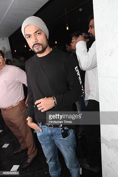 Bohemia Pakistani American rapper and music producer from California during a prewedding bash of Indian cricketer Suresh Raina hosted by restaurateur...