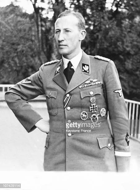 Bohemia Portrait Of Reinhard Heydrich Nazi Protector Of Bohemia And Moravia At Moravia Bohemia In Germany On May 1942