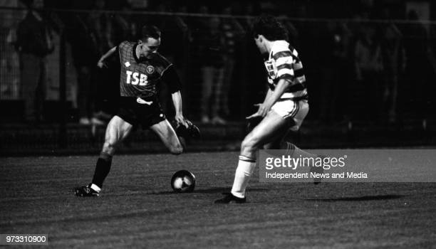 Bohemians V Shamrock Rovers in the League of Ireland in Dalymount Park, .