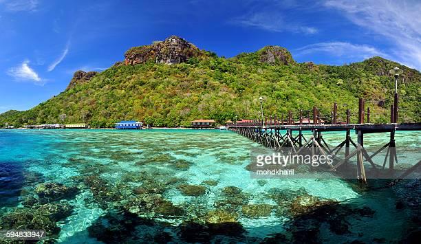 Bohey Dulang Island, Semporna, Borneo, Malaysia