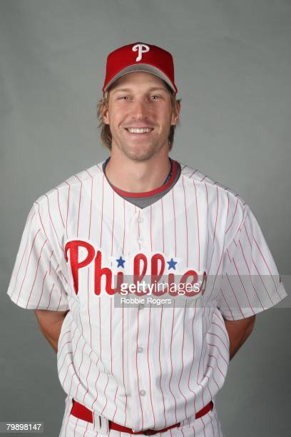 Bohn of the Philadelphia Phillies poses for a portrait during photo day at Bright House Networks Field on February 21, 2008 in Clearwater, Florida.