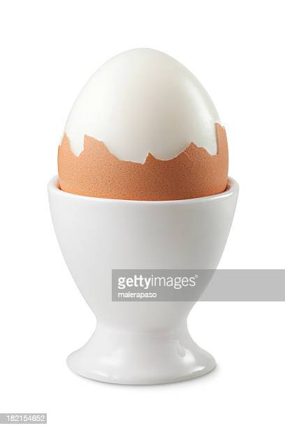 Boiled egg in an eggcup