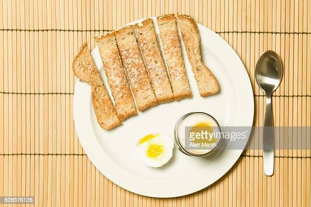 Boiled Eggs and Toast