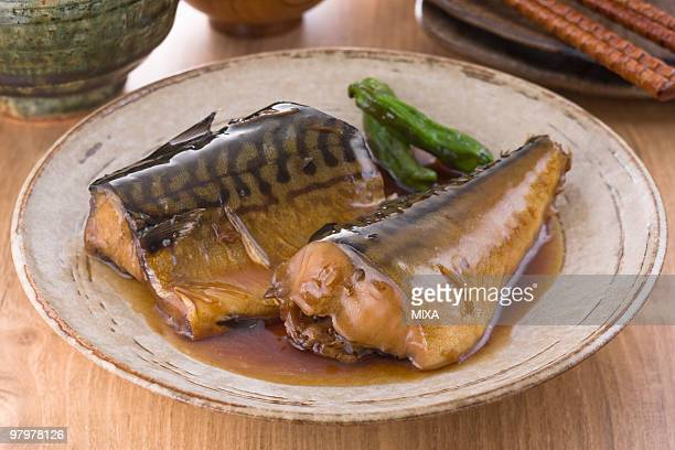 Boiled Mackerel with Ginger