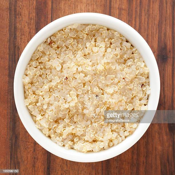 boiled quinoa - quinoa stock pictures, royalty-free photos & images