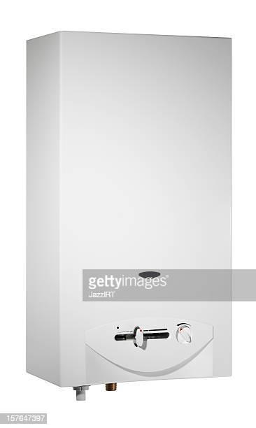 Boiler mit clipping path (isoliert auf weißem Hintergrund