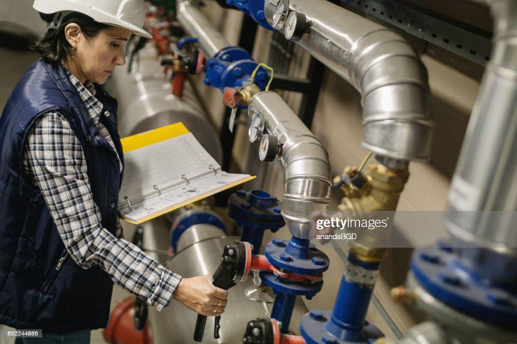 boiler room : Stockfoto