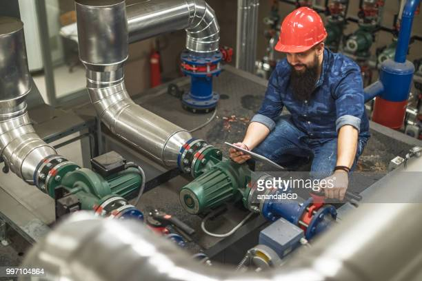 boiler room - water pump stock pictures, royalty-free photos & images