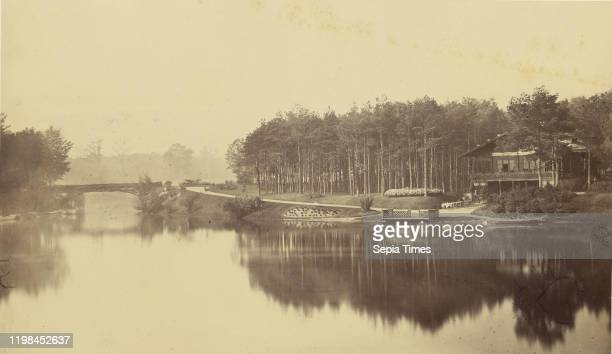Bois de Boulogne Paris Charles Marville Paris France negative 1855 1870 print after 1870 Albumen silver print