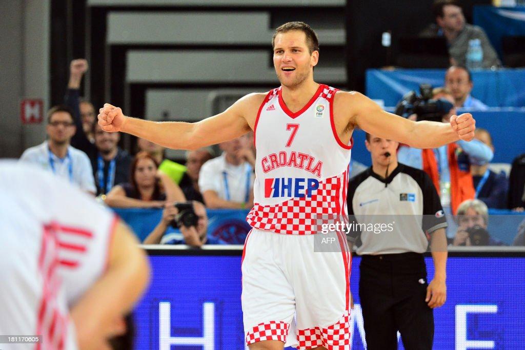 BASKET-EURO-2013-CRO-UKR : News Photo