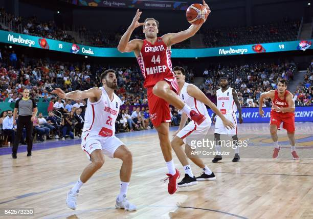 Bojan Bogdanovic of Croatia during Group C of the FIBA Eurobasket 2017 mens basketball match between Montenegro and Croatia in Cluj Napoca city...