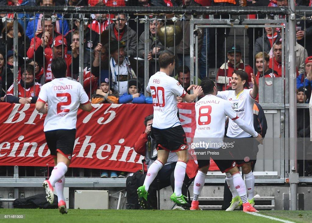 Bayern Muenchen v 1. FSV Mainz 05 - Bundesliga