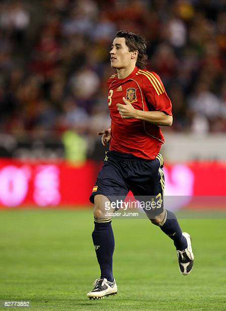 Bojan Krkic of Spain during his debut match for the Spanish national team during the FIFA2010 World Cup Qualifier match between Spain and Armenia at...