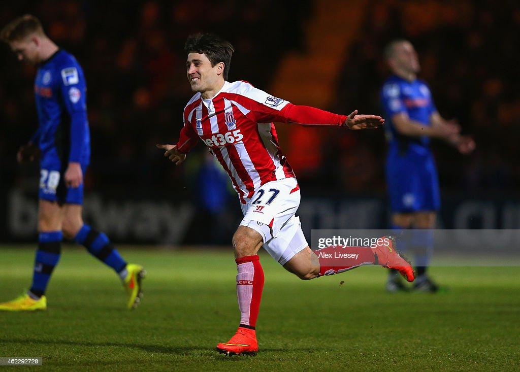 Rochdale v Stoke City - FA Cup Fourth Round