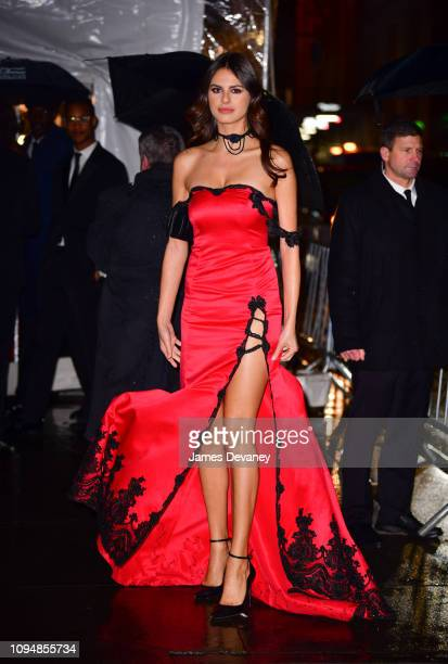 Bojana Krsmanovic arrives to the amfAR Gala New York 2019 at Cipriani Wall Street on February 6 2019 in New York City