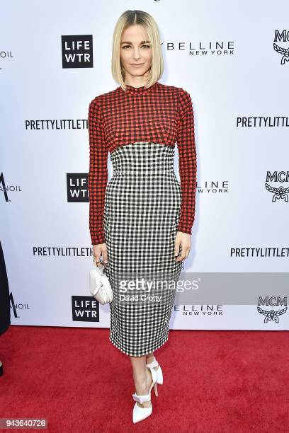 Bojana Novakovic attends The Daily Front Row's 4th Annual Fashion Los Angeles Awards Arrivals at The Beverly Hills Hotel on April 8 2018 in Beverly...