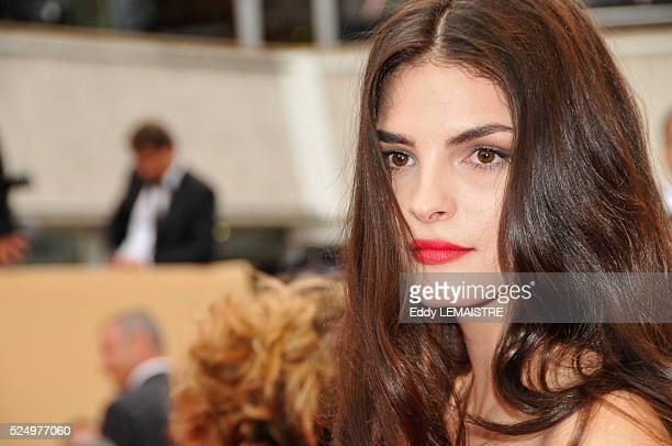 Bojana Panic at the premiere of Le Silence de Lorna during the 61st Cannes Film Festival