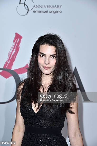 Bojana Panic attends the Launch Of The New Fragrance 'La Diva' And 50th Anniversary Of Emanuel Ungaro at Le Petit Palais on January 26 2016 in Paris...