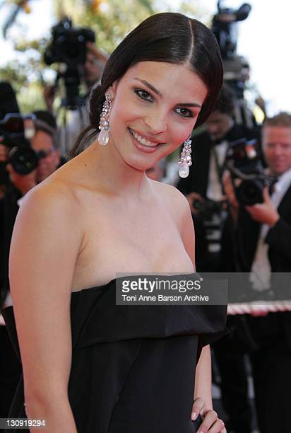 Bojana Panic during 2007 Cannes Film Festival Palme D'Or Arrivals at Palais des Festivals in Cannes France