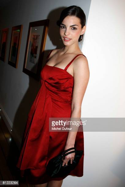 Bojna Panic attends the Dior Party at Eden Roc Hotel during the 61st International Cannes Film Festival on May 23, 2008 in Cannes, France.