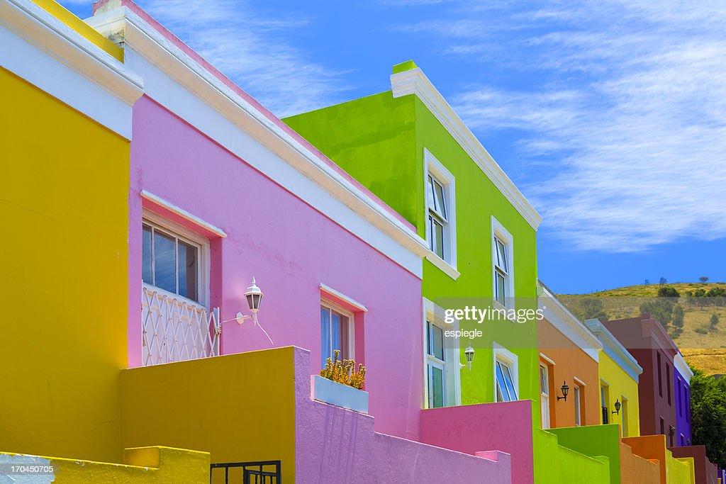 Bo-Kaap Malay Quarter, Cape Town : Stock Photo