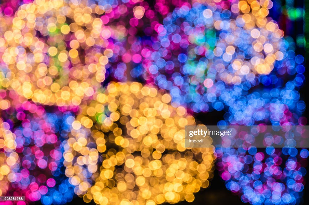 bokeh background : Stock Photo