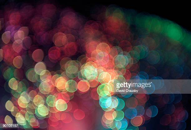 bokeh circles - crausby stock pictures, royalty-free photos & images